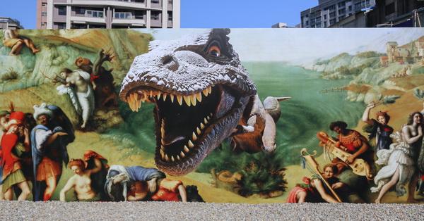 台中西屯藝術家駐村Fun美宅,openfun大放藝彩,與世界名畫同框,精銳建設