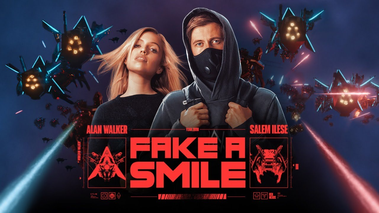 Fake A Smile Lyrics Alan Walker X Salem Ilese | English Song