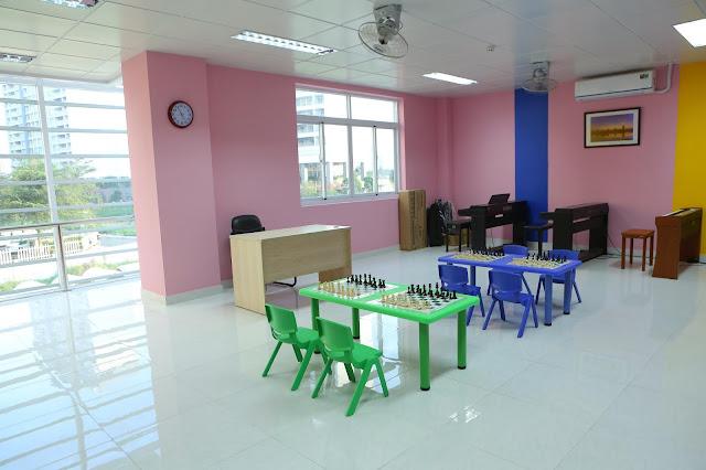 Phòng học piano 3 - Trường nhạc SMS quận 2 - Cơ sở 3