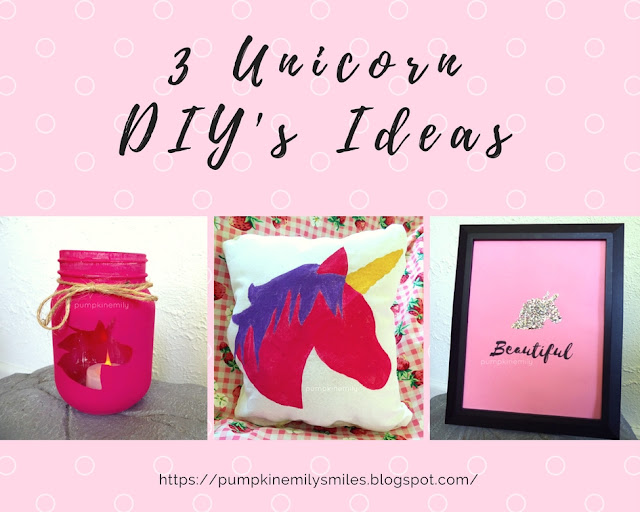 3 Easy Unicorn DIY Ideas