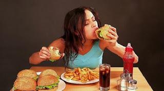 Pola makananmu jadi tidak teratur