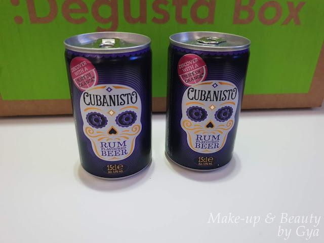 Cerveza con ron Cubanisto Degustabox Marzo ´19 - Mi última cajita