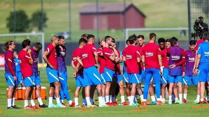 Barcelona's pre-season preparations go up a notch
