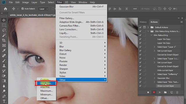 create magic skin retouching actions screenshot 3