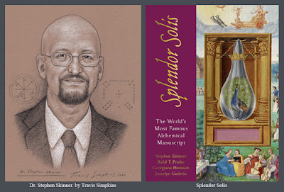 Stephen Skinner. Author. Splendor Solis. Alchemy. Ceremonial Magick. by Travis Simpkins
