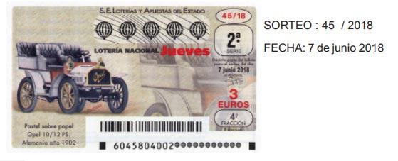 loteria opel PS 10/12