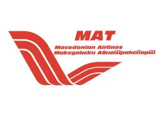 Macedonian Airlines Logo Vector