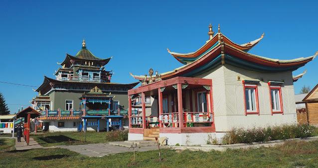 Бурятия, Иволгинский дацан – буддийский храм