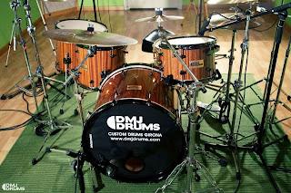 massbateria-bateria caoba dmj drums