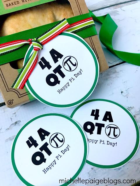 Printable tags for Pi Day