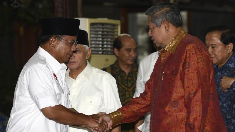 Prabowo dan SBY di Cikeas