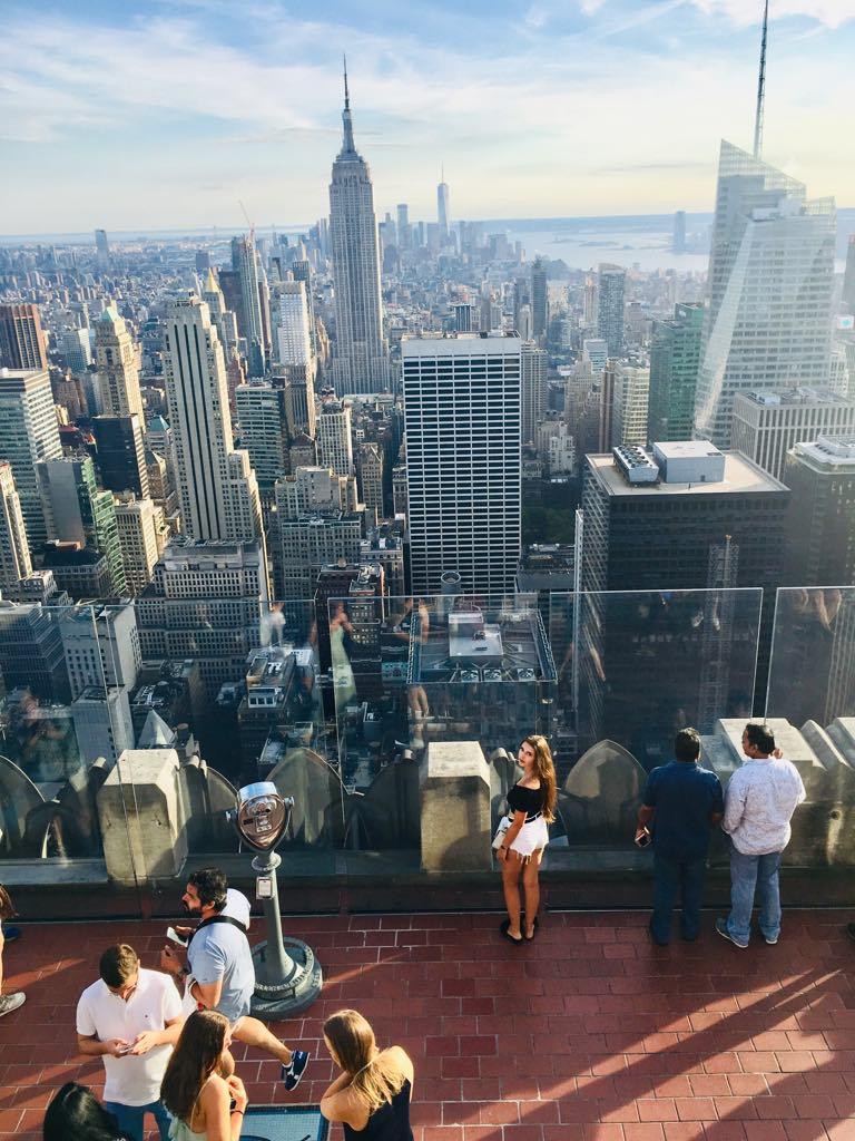 Nowy Jork - Miasto kontrastów? / brooklyn bridge / top of the rock / time square / 5th avenue /statua wolności