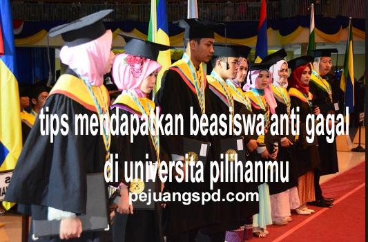Tips jitu mendapatkan beasiswa di universitas pilihanmu