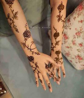 Mehendi Arabic Design