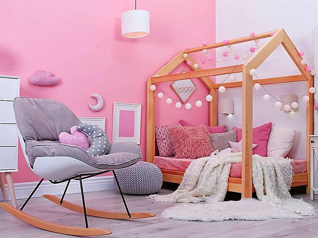 5 Inspirasi Desain Kamar Tidur Anak Perempuan yang Syantik ...