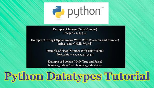 Python DataType Tutorial Part 2