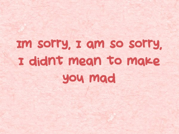 Im Sorry Boyfriend Quotes: Freshmorningquotes
