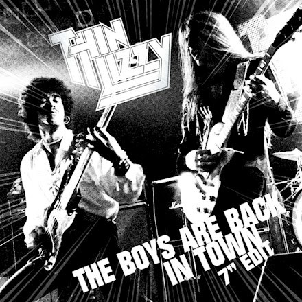 Hennemusic Thin Lizzy Stream Single Edit Of The Boys Are Back In Town