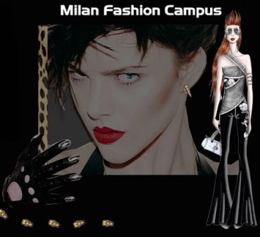 American times january 2012 for Milan fashion school