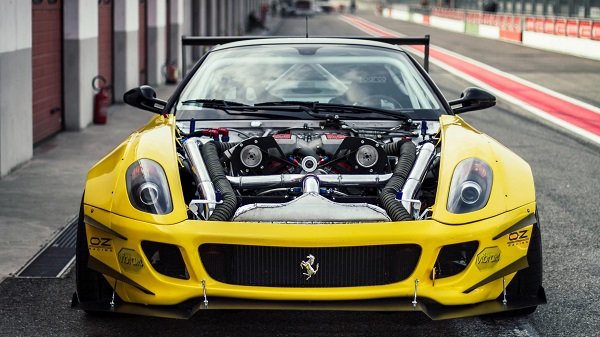 Ferrari 599 GTB Fiorano Fórmula Drift