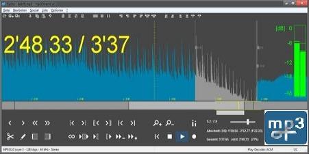 تحميل برنامج قص و تقطيع الملفات الصوتية mp3DirectCut 2.25