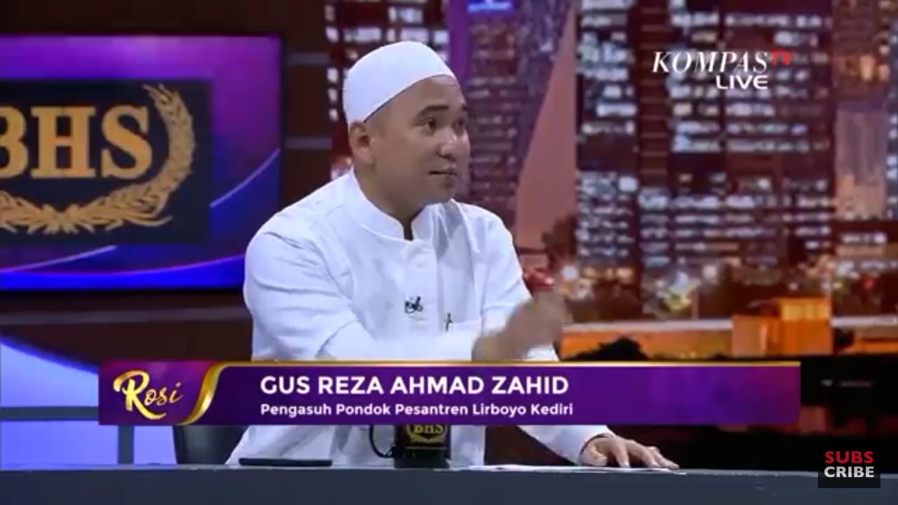 Duh! Tayangan Live, Gus Reza NU ke Rosi: Nanti Kita Sarungan Bareng