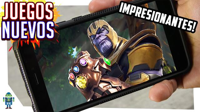 Impresionantes Juegos Android Nuevos Que Debes De Tener En Tu