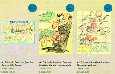 Doodles On Sale