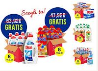 Logo Casa Henkel ''Più spendi Più risparmi'' : in regalo 1 o 2 cartoni di prodotti