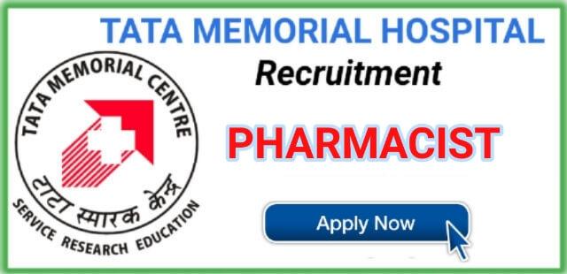TMC Recruitment 2019 - Pharmacist Job in Tata Memorial Centre