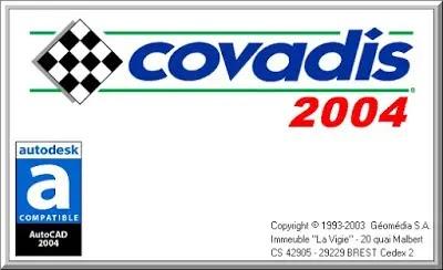 CRACK 2004 2004 AUTOCAD TÉLÉCHARGER COVADIS