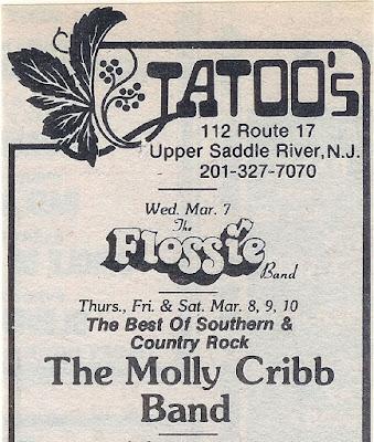 Tattoo's club band line up