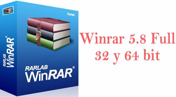 Descargar WinRAR  5.8 full 32 y 64 bit: Es un software de compresión de datos desarrollado por Eugene Roshal y distribuido por Ron Dwight. Fue lanzado por primera vez alrededor de 1993. Aunque es un producto comercial, existe una versión de prueba gratuita.