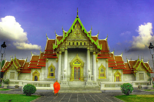 Travel Photos Series#20-The Marble Temple