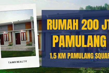 Rumah minimalis dekat Pamulang Square Tangerang Selatan