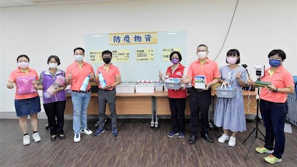 彰化縣校園防疫整備視察 平和國小準備好迎接開學日