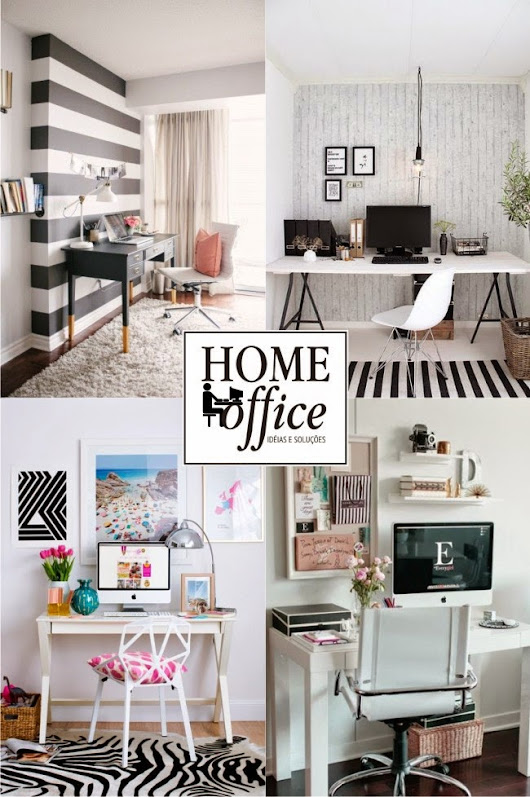 HOME OFFICE. IDÉIAS PARA ORGANIZAR & DECORAR!