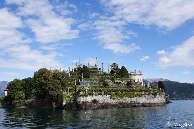 Una delle tre isole Borromee raggiungibili da Stresa