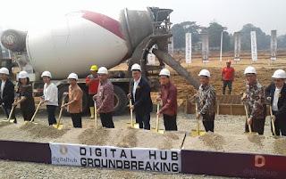 Ground Breaking Digita Hub www.rumah-hook.com