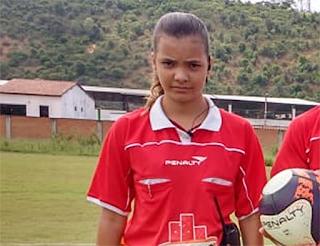 Ubaíra: Árbitra assistente de 12 anos é destaque a Copa Rural