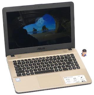 Laptop ASUS X441UA Core i3 Gen.6 Bekas di Malang