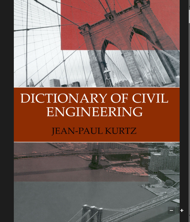 Dictionary of Civil Engineers download full pdf - Iamcivilengineer