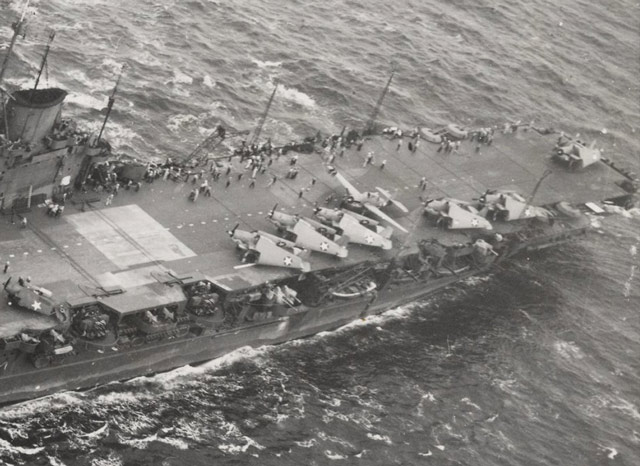 HMS Victorious in 1943 while serving with the US Navy worldwartwo.filminspector.com
