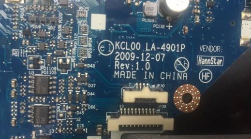 LA-4901P REV 1.0 KCL00 HP Elitebook 8440P Bios
