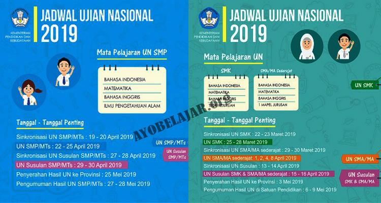 https://www.ayobelajar.org/2019/01/cek-jadwal-ujian-nasional-un-jenjang.html