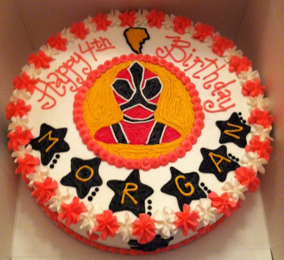 Power Rangers Party On Pinterest Power Ranger Cake