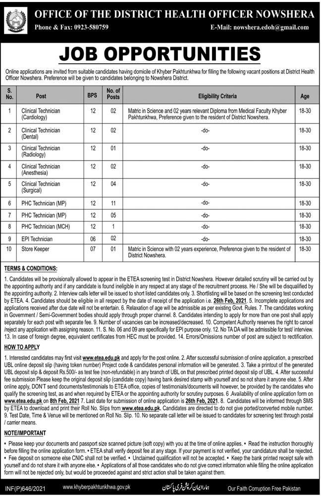 Latest-Jobs-in-Pakistan-District-Health-Department-Nowshera-2021