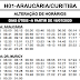 H01 ARAUCÁRIA/CURITIBA | Horário de ônibus 2021 | Araucária PR