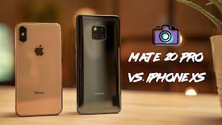 Huawei Mate 20 Pro VS iPhone XS : Manakah yang lebih unggul ?