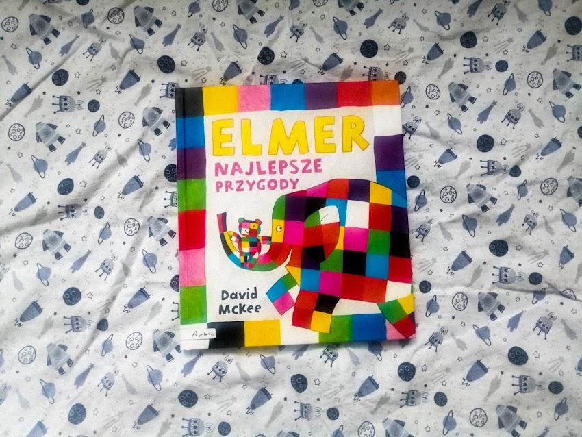 """Poznajcie kolorowego słonia   David McKee """"Elmer"""""""